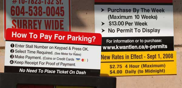 Kwantlen students are paying more to park, but the college says rates are still low compared to other colleges.