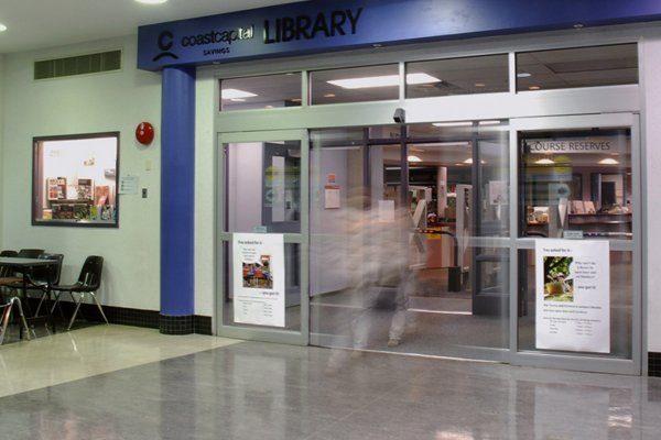 The Richmond library will be over 3000 sq. feet bigger when the renovations are finished.