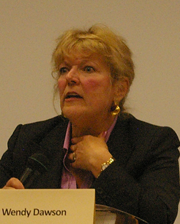 Wendy Dawson, crown counsel and leader of the Surrey Six prosecution team
