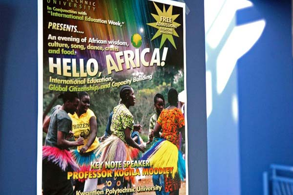 Hello Africa Poster